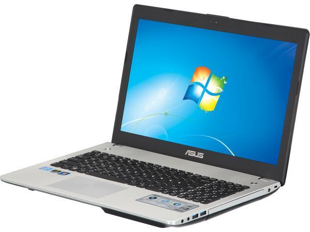 "ASUS Laptop N56VM-TB71 Intel Core i7 3610QM (2.30 GHz) 8 GB Memory 750 GB HDD Intel HD Graphics 4000 15.6"" Windows 7 Home ..."