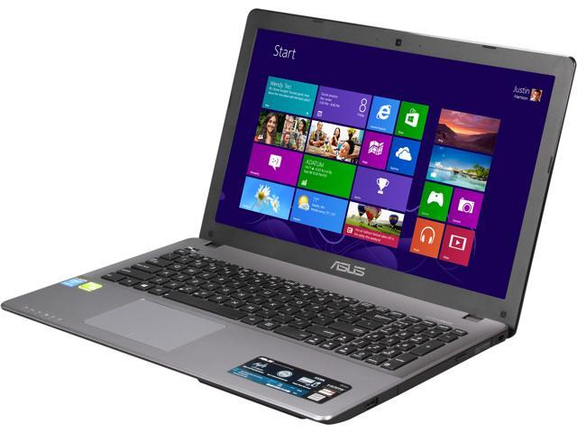 ASUS Laptop X550LNV-NB51 Intel Core i5 4210U (1.70 GHz) 8 GB Memory 750 GB HDD NVIDIA GeForce 840M 15.6