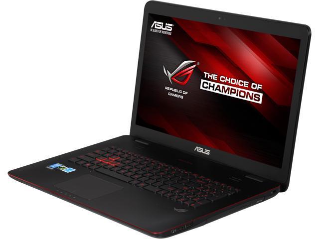 ASUS ROG G771 Series G771JM-DH71-CA Gaming Laptop Intel Core i7 4710HQ (2.50 GHz) 12 GB Memory 750 GB HDD NVIDIA GeForce GTX 860M 2 GB GDDR5 17.3