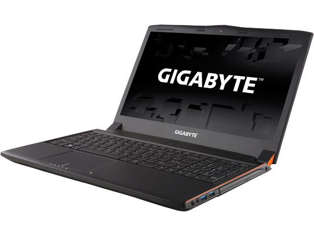 GIGABYTE P55Wv5-SL3K1 Gaming Laptop Intel Core i7 6th Gen 6700HQ (2.60 GHz) 16 GB Memory 1 TB HDD 256 GB SSD NVIDIA GeForce GTX 970M 3 GB GDDR5 15.6