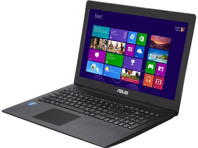 ASUS Laptop X553MA-QP2-CB Intel Pentium N3540 (2.16 GHz) 8 GB Memory 750 GB HDD Intel HD Graphics 15.6