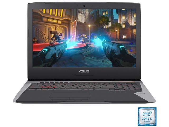 ASUS ROG G752VS-XB78K OC Edition Gaming Laptop 6th Generation Intel Core i7 6820HK (2.70 GHz) 64 GB Memory 1 TB HDD 512 GB SSD NVIDIA GeForce GTX 1070 8 GB GDDR5 17.3