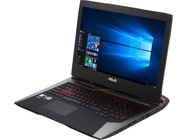 ASUS ROG G752VY-DH78K Gaming Laptop Intel Core i7 6820HK (2.70 GHz) 64 GB Memory 1 TB HDD 512 GB SSD NVIDIA GeForce GTX 980M 8 GB GDDR5 17.3