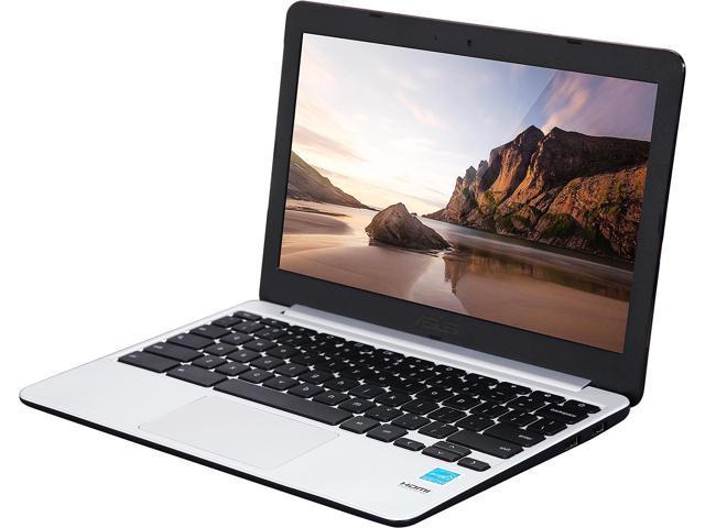 ASUS C201PA-DS01 Chromebook Rockchip RK3288C (1.80 GHz) 2 GB LPDDR3 Memory 16 GB eMMC 11.6