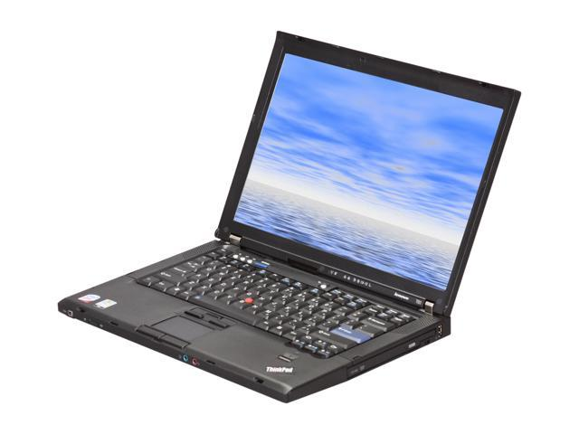 "ThinkPad Laptop T61/2.0/2G/80G/XPP Intel Core 2 Duo 2.00 GHz 2 GB Memory 80 GB HDD 14.1"" Windows XP Professional"