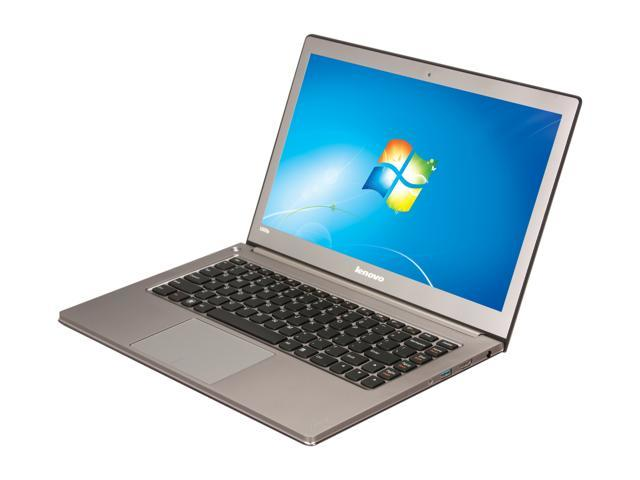"Lenovo IdeaPad U300s (10802BU) Intel Core i5 4 GB Memory 128 GB SSD 13.3"" Ultrabook Windows 7 Home Premium 64-bit"