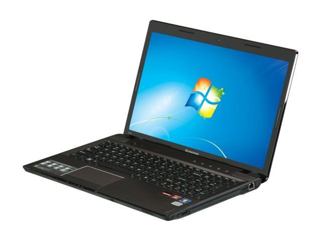 Lenovo Laptop IdeaPad Z575 (12992PU) AMD A6-Series A6-3420M (1.5 GHz) 6 GB Memory 500 GB HDD AMD Radeon HD 6650M 15.6