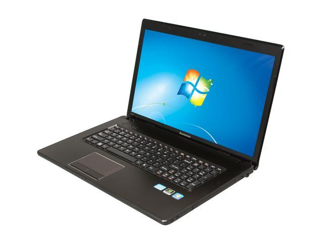 Lenovo Laptop Essential G780 (21823UU) Intel Core i7 3520M (2.90 GHz) 6 GB Memory 750 GB HDD NVIDIA GeForce GT 630M 17.3