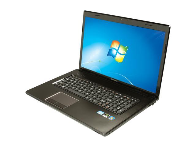 Lenovo Laptop G780 (21823TU) Intel Core i7 3rd Gen 3520M (2.90 GHz) 8 GB Memory 1 TB HDD NVIDIA GeForce GT 630M 17.3