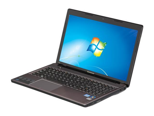 "Lenovo Laptop IdeaPad Z580 (215126U) Intel Core i3 3110M (2.40 GHz) 6 GB Memory 750 GB HDD Intel HD Graphics 4000 15.6"" Windows ..."