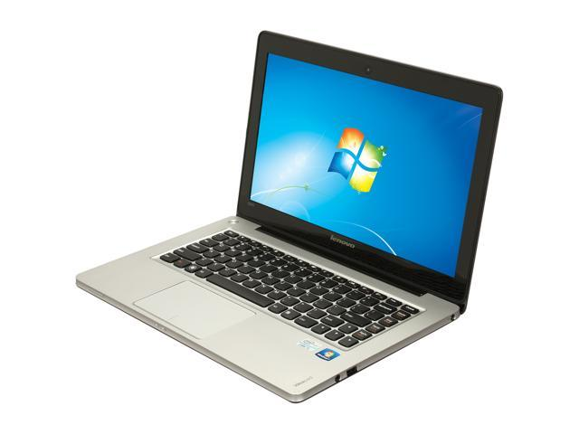 "Lenovo IdeaPad U310 (43752BU) Intel Core i5 4 GB Memory 500 GB HDD 32 GB SSD 13.3"" Ultrabook Windows 7 Home Premium 64-Bit"