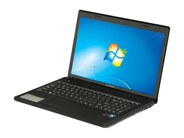 Lenovo Laptop G575 (438358U) AMD Dual-Core Processor E-450 (1.65 GHz) 2 GB Memory 320 GB HDD AMD Radeon HD 6320 15.6