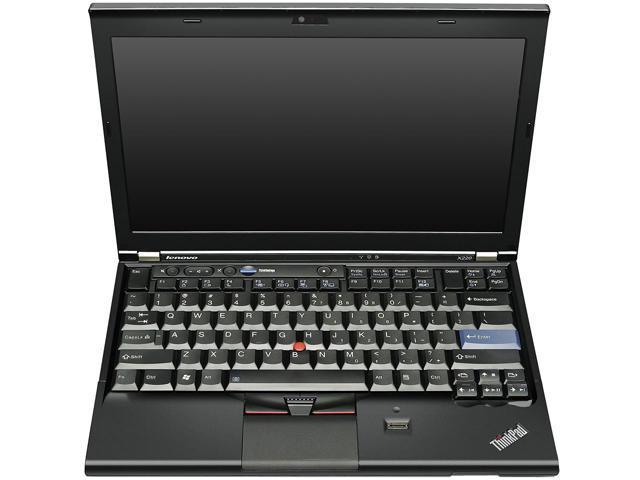 "Lenovo Laptop ThinkPad 42912XU Intel Core i5 2.60 GHz 4 GB Memory 320 GB HDD GMA HD 3000 12.5"" Windows 7 Professional"