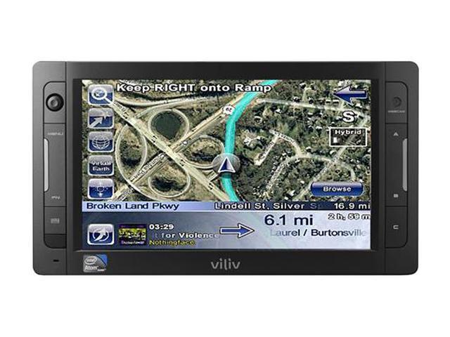 "Viliv X70EX PRE US Black 7"" WSVGA Netbook"