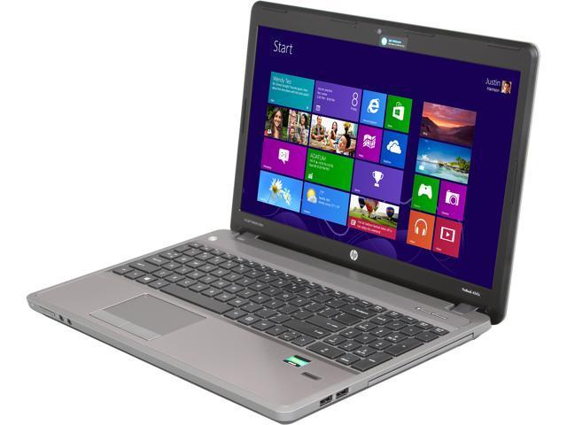 "HP ProBook 4545s (C6Z38UT#ABA) AMD A6-4400M 2.7GHz 15.6"" Windows 7 Professional 64-Bit Notebook"