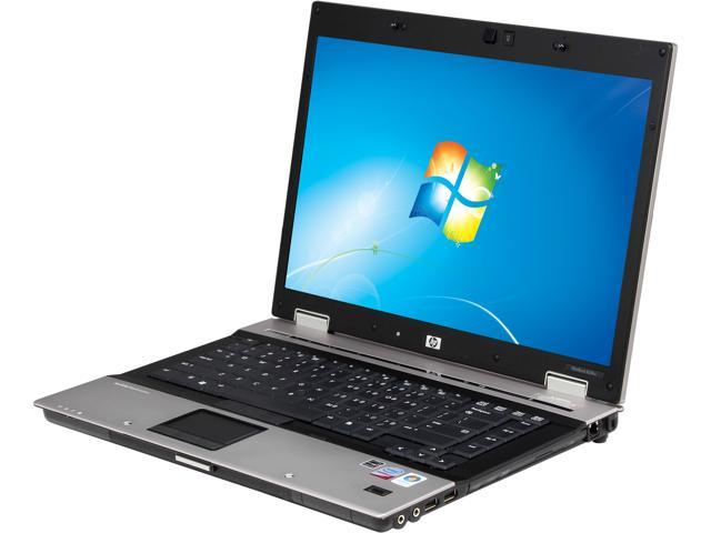 HP Laptop EliteBook 8530W Intel Core 2 Duo 2.80 GHz 2 GB Memory 160 GB HDD VGA: Yes 15.4