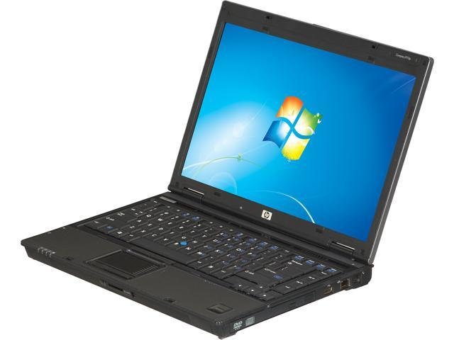 HP Laptop 6910P Intel Core 2 Duo 2.00 GHz 2 GB Memory 80 GB HDD VGA: Yes 14.1
