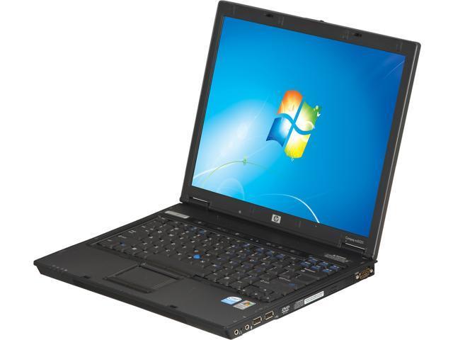 "HP Compaq NC6220 14.1"" Windows 7 Professional 32-Bit Laptop"