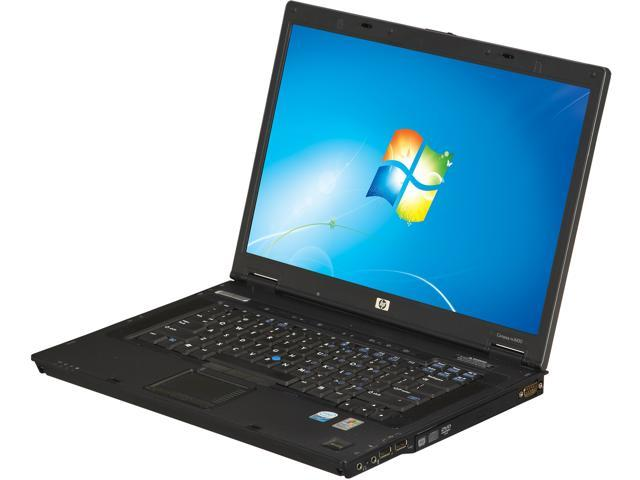 "HP Laptop NC8430 Intel Core 2 Duo 2.00 GHz 2 GB Memory 80 GB HDD 15.4"" Windows 7 Home Premium"