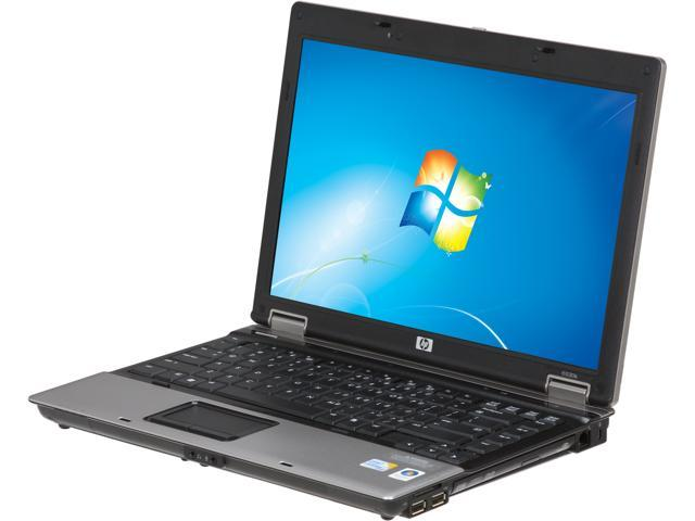 "HP 6530B 14.1"" Windows 7 Professional 64-Bit Notebook includes a card reader"