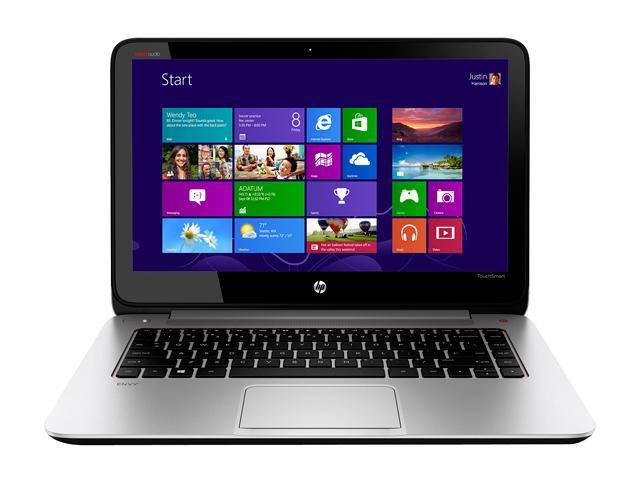 HP ENVY TouchSmart 14-k020us Ultrabook Intel Core i5 4200U (1.60 GHz) 750 GB HDD Intel HD Graphics 4400 Shared memory 14
