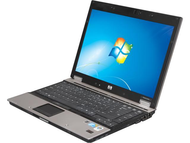 HP Compaq Laptop 6930p Intel Core 2 Duo 2.40 GHz 4 GB Memory 320 GB HDD Windows 7 Professional