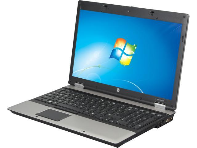 HP Laptop ProBook 6555B AMD Turion II P520 (2.3 GHz) 4 GB Memory 160 GB HDD 15.6