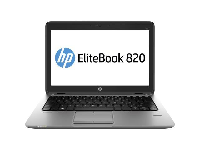"HP Laptop EliteBook 820 G1 Intel Core i5 4300U (1.90 GHz) 4 GB Memory 500 GB HDD Intel HD Graphics 4400 12.5"" Windows 7 Professional ..."