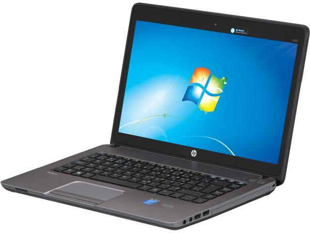 "HP Laptop ProBook 440 G1 (F2P43UT#ABL) Intel Core i5 4200M (2.50 GHz) 4 GB Memory 500 GB HDD Intel HD Graphics 4600 14.0"" ..."
