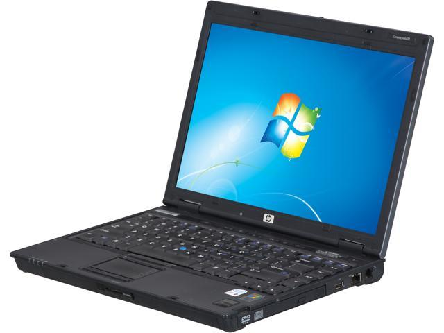HP Compaq Notebook (B Grade: Scratch and Dent, Screen Blemish) nc6400 (NHN640CM18GEEDD) Intel Core Duo 1.80 GHz 2 GB Memory ...