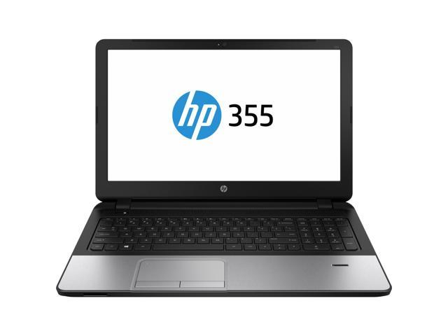 Hp 355 g2 15 6 quot led notebook amd e series e1 6010 1 35 ghz silver
