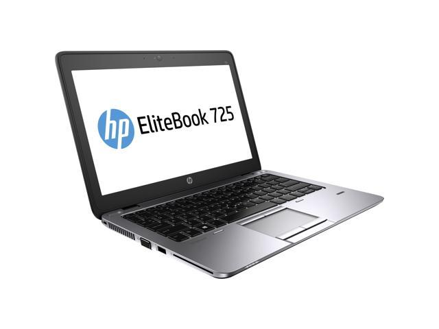 HP Laptop EliteBook 725 G2 (J5N98UT#ABA) AMD A10-Series A10 Pro-7350B (2.10 GHz) 4 GB Memory 500 GB HDD AMD Radeon R6 Series ...