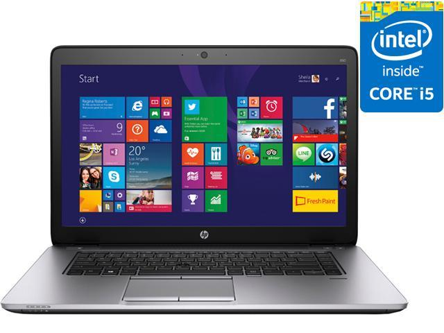 HP EliteBook 850 G2 (L4A23UT#ABA) Laptop - Intel Core i5 5300U (2.30 GHz) 8 GB DDR3L 180 GB SSD Intel HD Graphics 5500 15.6