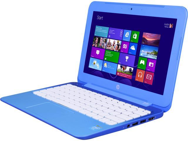 HP Laptop Stream 11-d010nr Intel Celeron N2840 (2.16 GHz) 2 GB Memory 32 GB eMMC SSD Intel HD Graphics 11.6