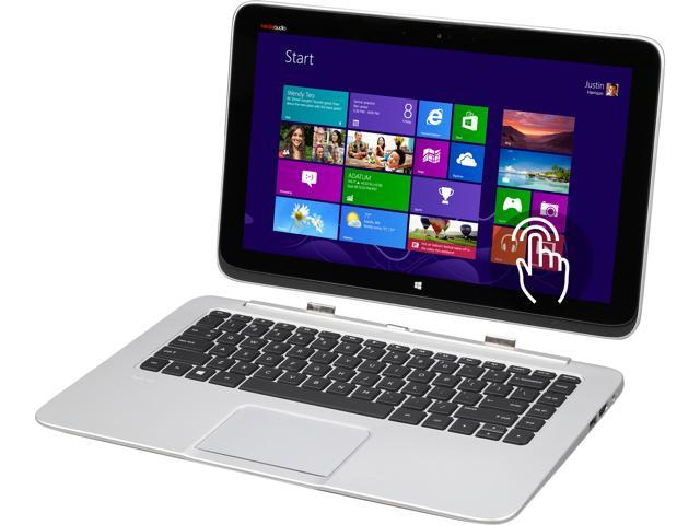 HP Split x2 13-g110dx Ultrabook Intel Core i5 4202Y (1.60 GHz) 128 GB SSD Intel HD Graphics 4400 Shared memory 13.3