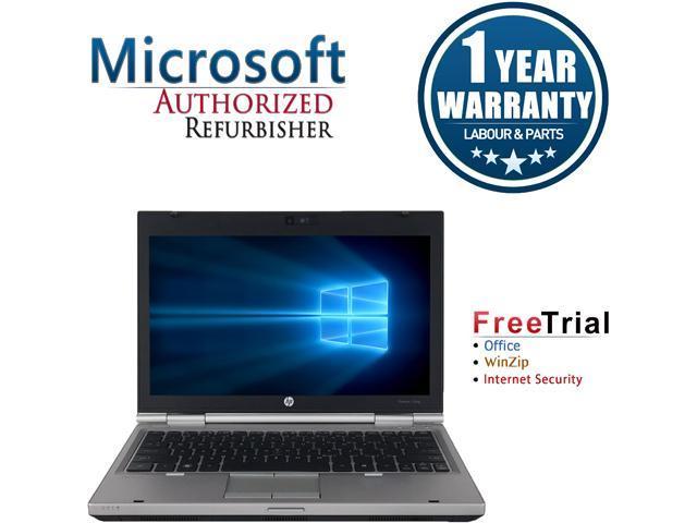 HP Laptop EliteBook 2560p Intel Core i7 2620M (2.70 GHz) 4 GB Memory 500 GB HDD Intel HD Graphics 12.5