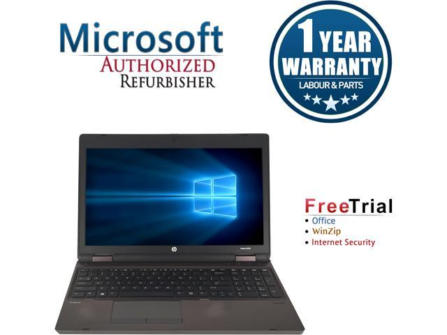 HP Laptop ProBook 6570B Intel Core i5 3320M (2.60 GHz) 4 GB Memory 500 GB HDD Intel HD Graphics 4000 15.6