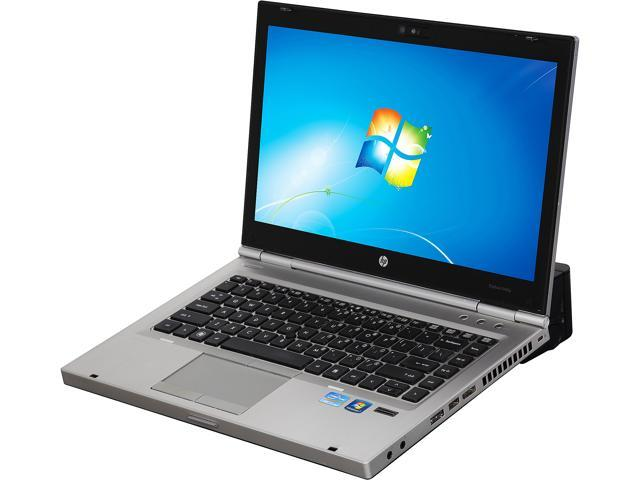 HP Laptop With Docking Station EliteBook 8460P Intel Core i5 2540M (2.60 GHz) 4 GB Memory 160 GB SSD Intel HD Graphics 3000 14.0