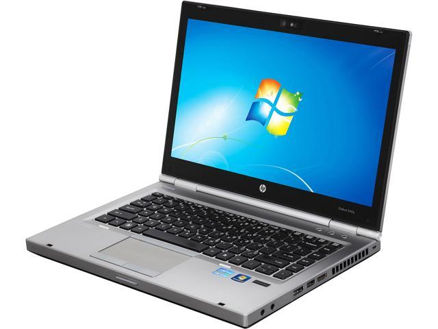HP C Grade Laptop 8460p Intel Core i5 2nd Gen 2520M (2.50 GHz) 4 GB Memory 250 GB HDD 14.1