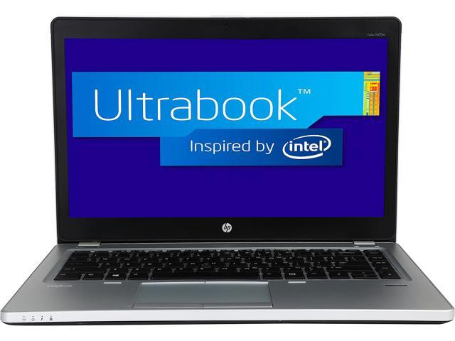 HP EliteBook Folio 9470m Intel Core i5 1.80 GHz 4 GB Memory 320 GB HDD Ultrabook Windows 7 Professional 64-Bit