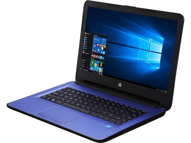 HP Laptop 14-ac151nr Intel Celeron N3050 (1.60 GHz) 2 GB Memory 32 GB eMMC Intel HD Graphics 14.0