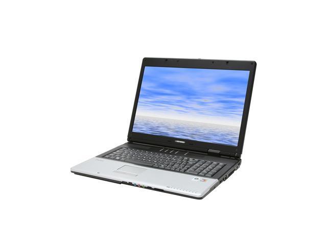 EVEREX Laptop XT5000T AMD Turion 64 X2 TL-50 (1.60 GHz) 1 GB Memory 100 GB HDD NVIDIA GeForce Go 7600 17.0