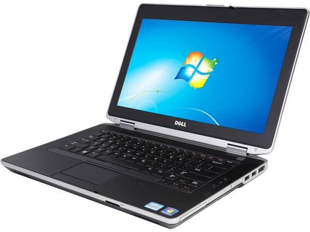 DELL Laptop E6430 Intel Core i5 2.60 GHz 8 GB Memory 320 GB HDD Windows 7 Professional 64-Bit