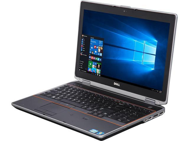 DELL Latitude E6520 Mobile Workstation Intel Core i7 2nd Gen 2760QM (2.40 GHz) 8 GB Memory 250 GB HDD NVIDIA NVS 4200M 15.6