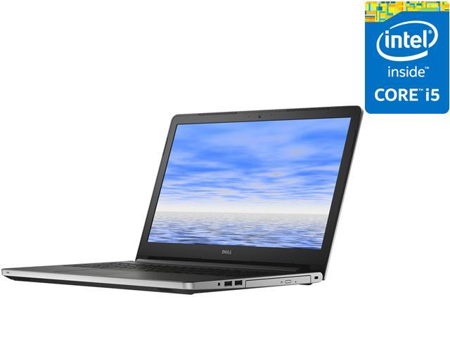 DELL Laptop Inspiron 15 i5558-2144SLV Intel Core i5 5200U (2.20 GHz) 8 GB Memory 1 TB HDD Intel HD Graphics 5500 15.6