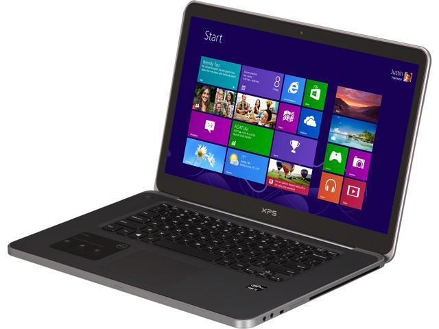 DELL Laptop XPS 15 XPS15-11047sLV Intel Core i7 3632QM (2.20 GHz) 16 GB Memory 512 GB SSD NVIDIA GeForce GT 640M 15.6