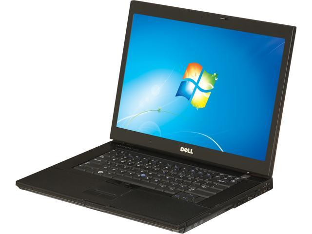 DELL Laptop Latitude E6500 Intel Core 2 Duo 2.40 GHz 4 GB Memory 160 GB HDD 15.4