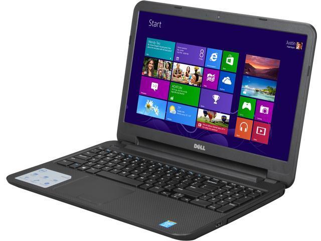 DELL Laptop Inspiron 15 (i15RV-8526BLK) Intel Core i5 4200U (1.60 GHz) 6 GB Memory 750 GB HDD Intel HD Graphics 4400 15.6