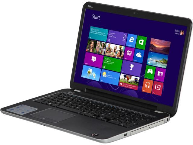 DELL Laptop Inspiron i5735-1935sLV AMD A10-Series A10-5745M (2.10 GHz) 8 GB Memory 1 TB HDD AMD Radeon HD 8610G 17.3