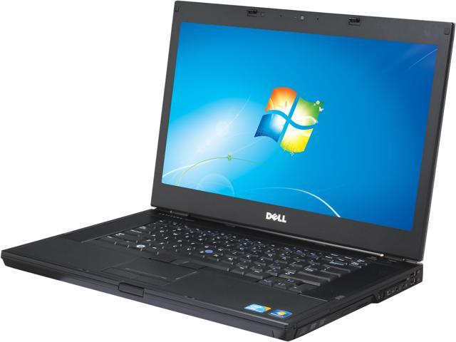 DELL Laptop Latitude 6510 Intel Core i7 2.60 GHz 4 GB Memory 160 GB HDD 15.6